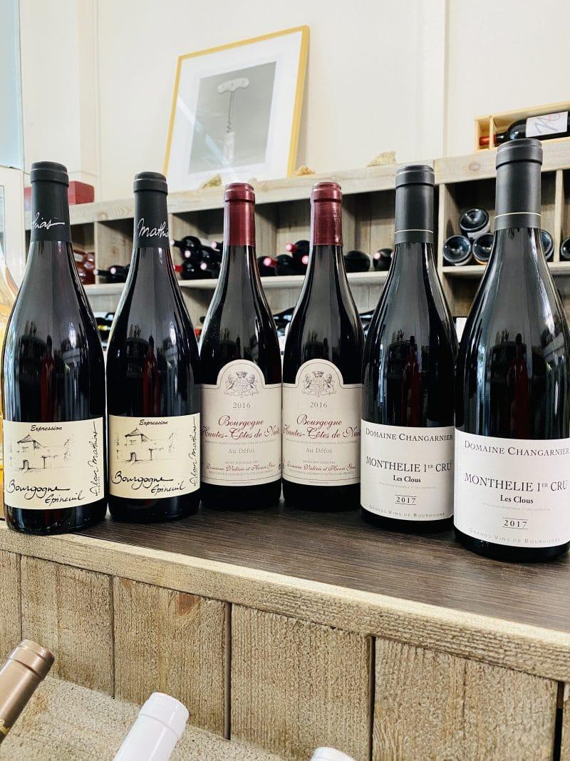Coffret Paires de Bourgognes